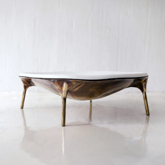 Valentin LOELLMANN Marble Coffee Table