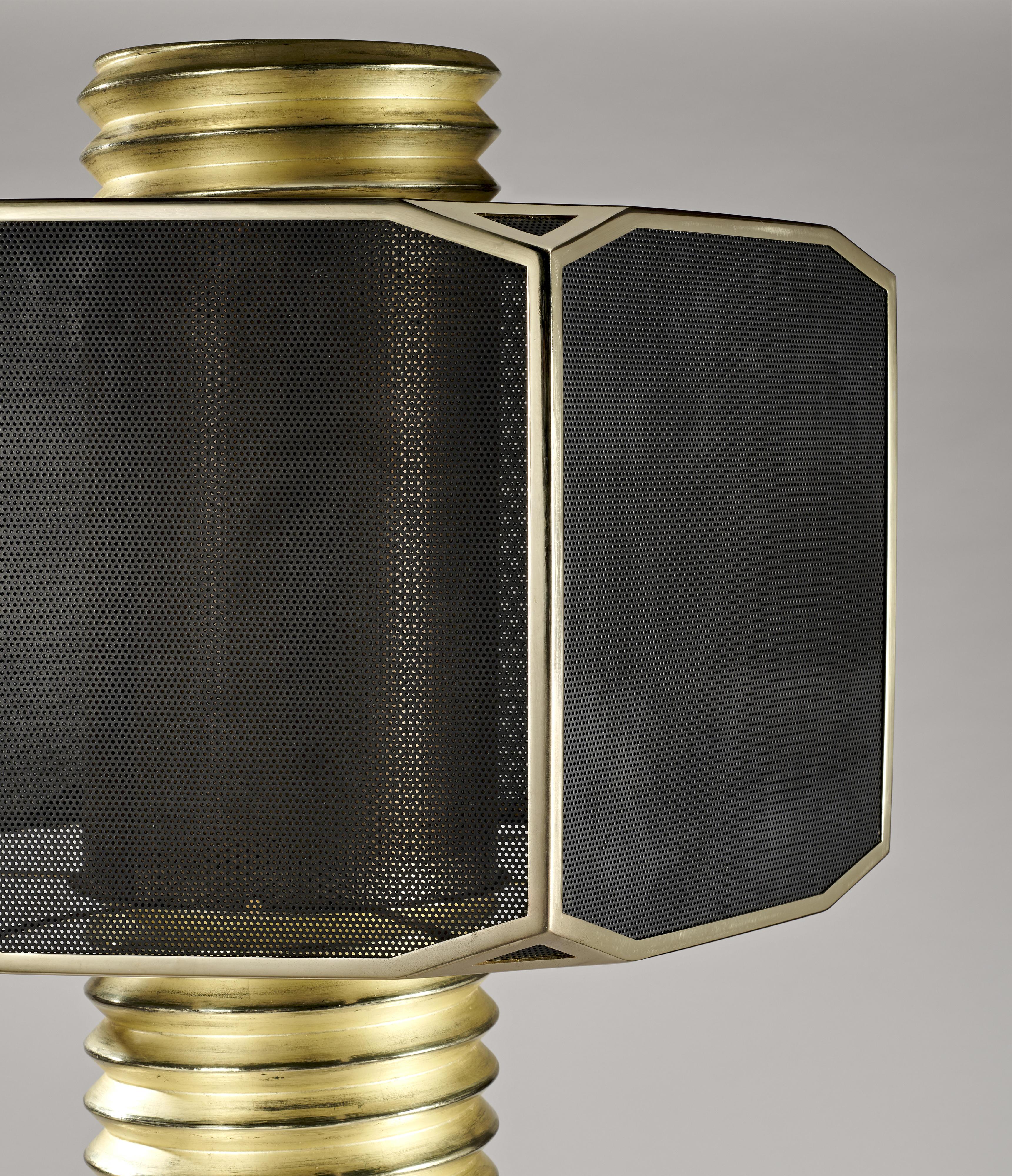 Maurice MARTY Grand Lampadaire Floor Lamp