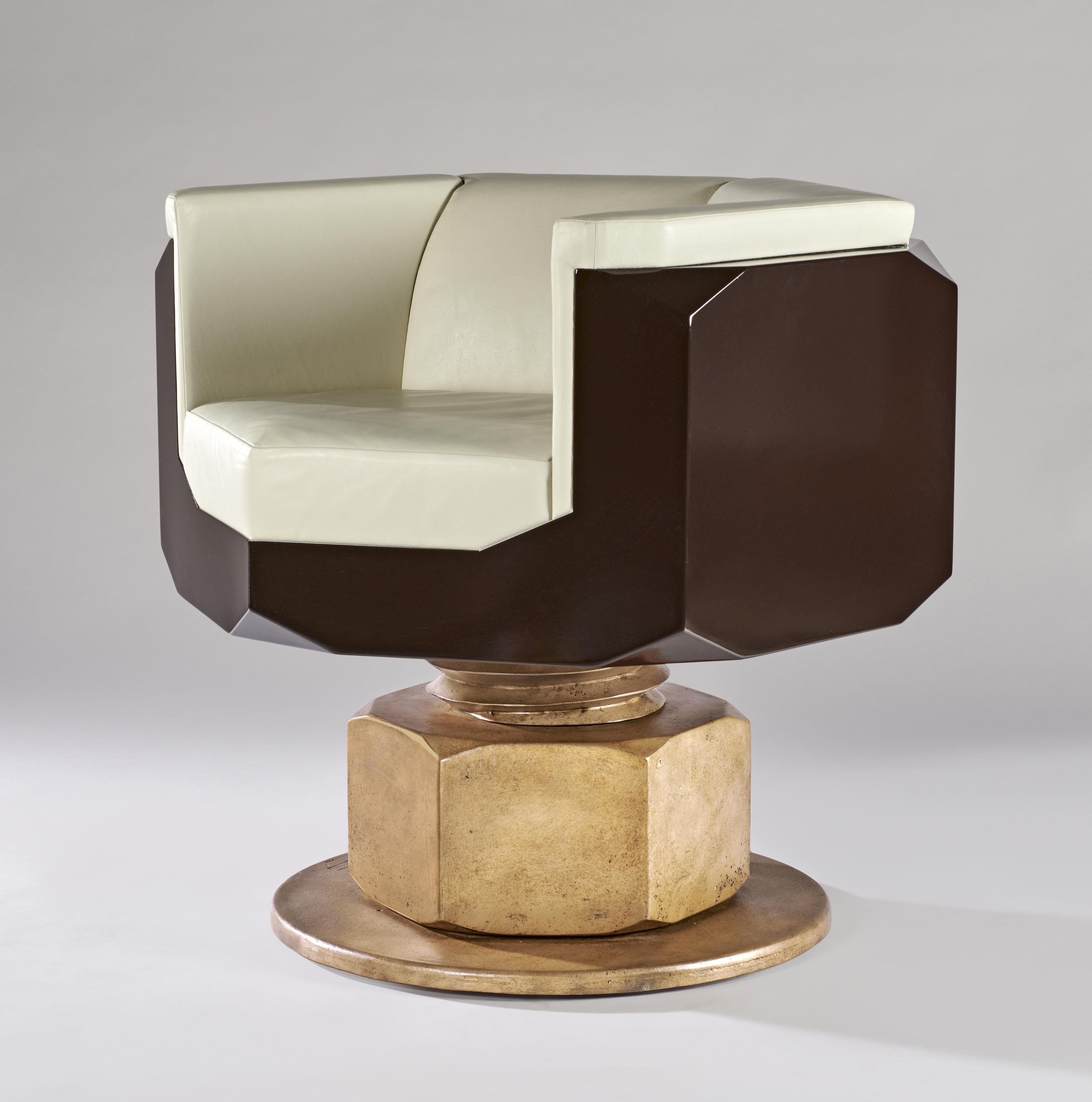 Maurice MARTY Fauteuil  Boulon