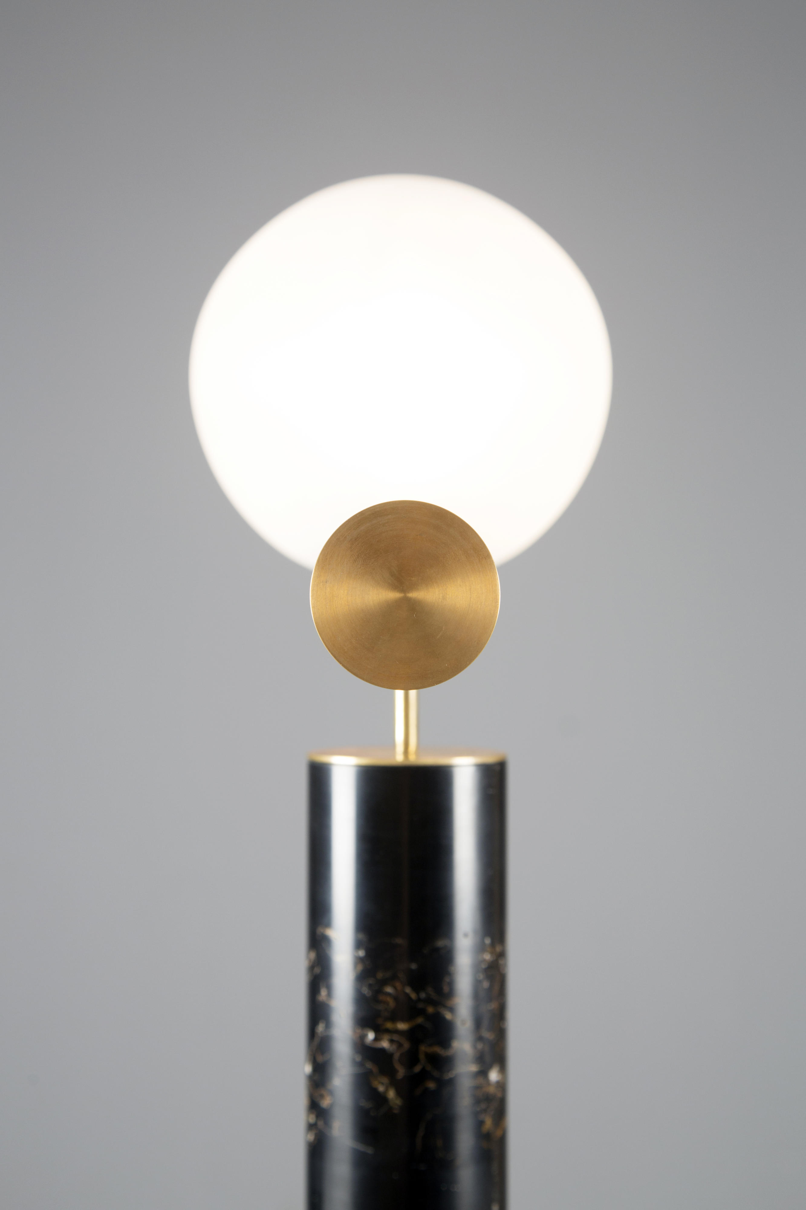 Marcin RUSAK Flora Lamp I Black