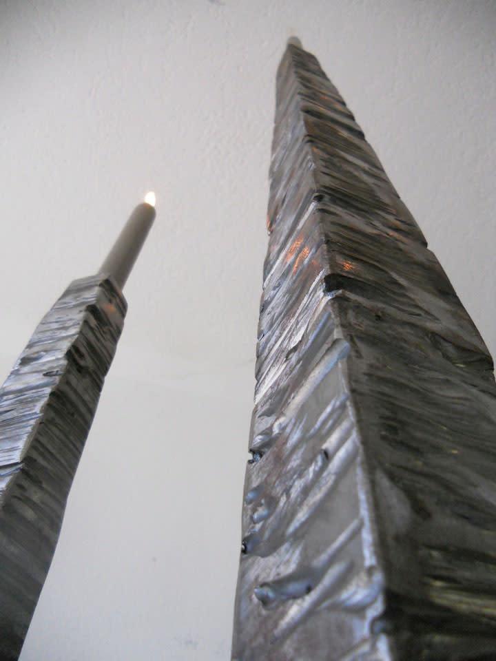 Bernar VENET Torcheres