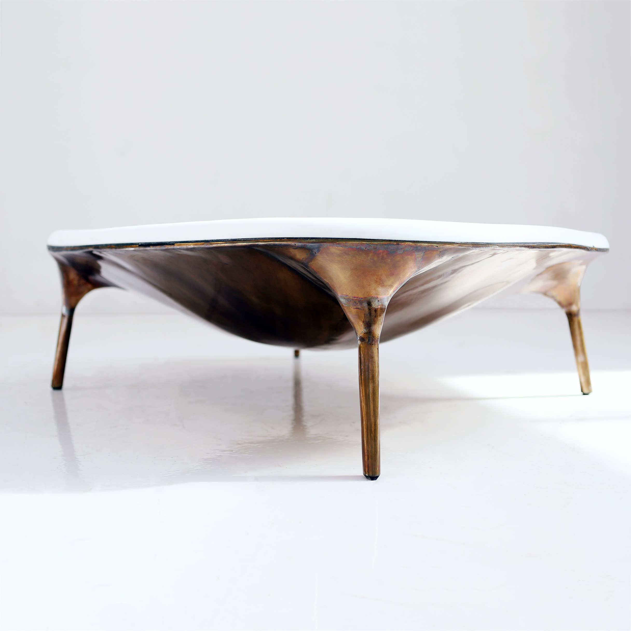 Valentin LOELLMANN Marble Coffee Table